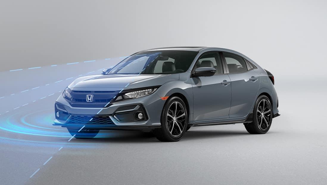 2020 Honda Civic Hatchback Honda Sensing