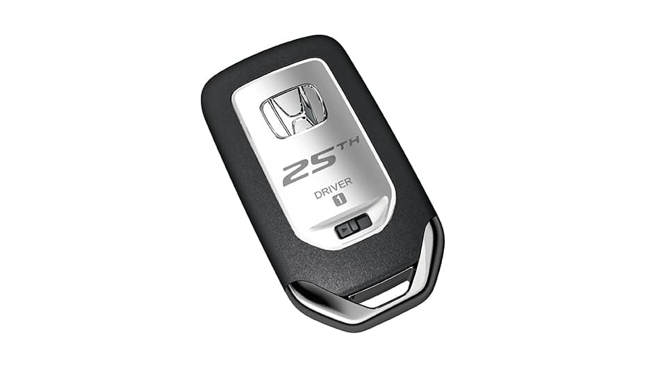 25th anniversary odyssey smart key