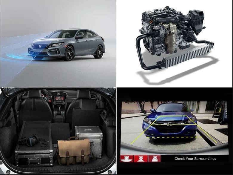 2020 Honda Civic Hatchback LX features