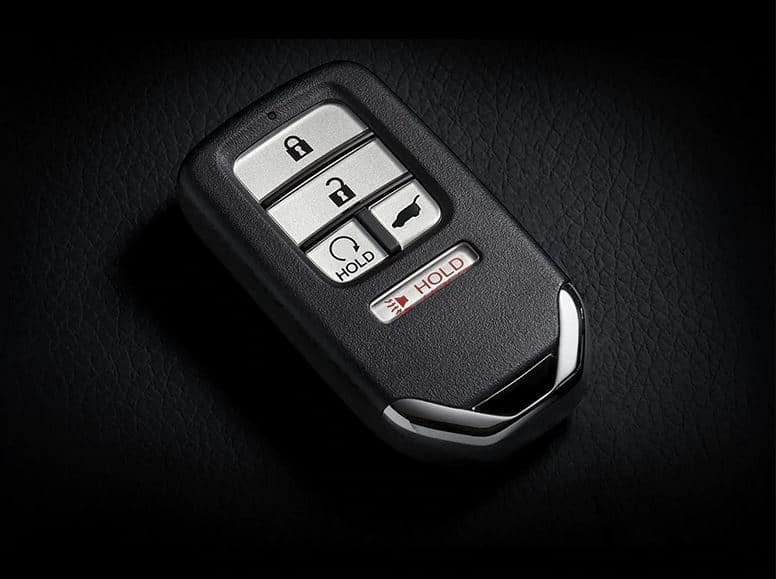 2020 Honda Civic hatchback with remote engine start