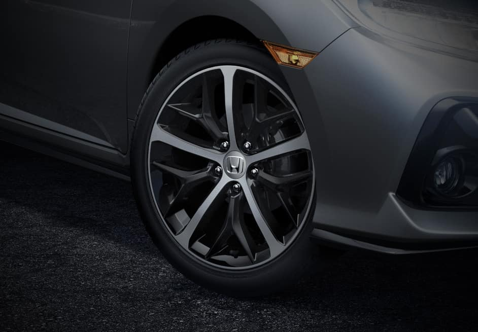 2020 Honda Civic Hatchback with 18-inch Alloy Wheels
