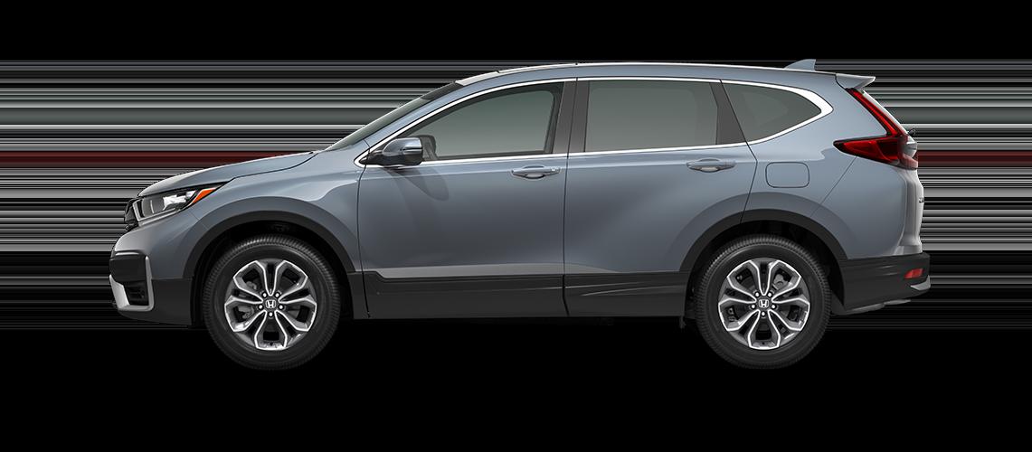 2021 Honda CR-V EX-L in sonic gray pearl