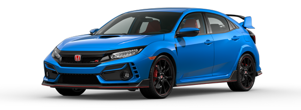 2020 Honda Civic Type R Boost Blue Pearl