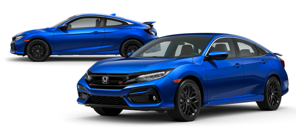 2020 Honda Civic Si Aegean Blue Metallic