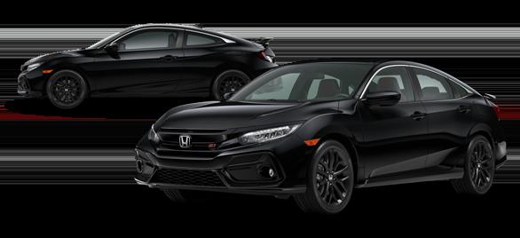 2020 Honda Civic Si Crystal Black Pearl