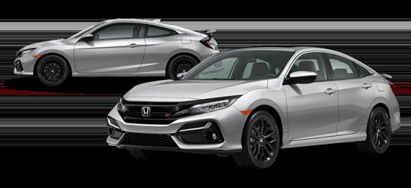 2020 Honda Civic Si Lunar Silver Metallic
