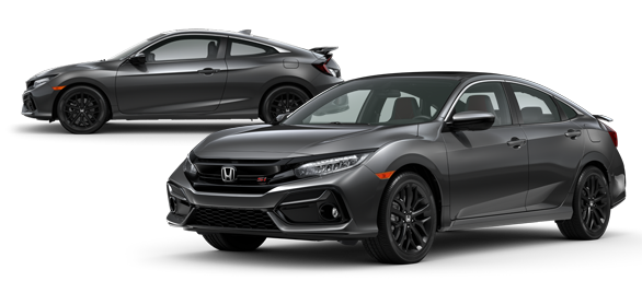 2020 Honda Civic Si Modern Steel Metallic
