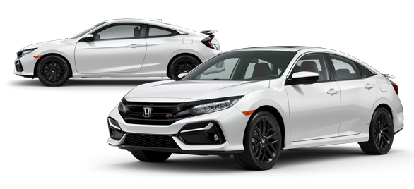 2020 Honda Civic Si Platinum White Pearl