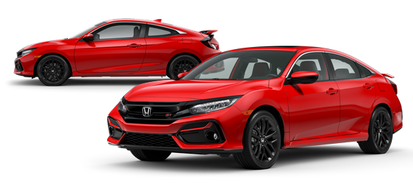 2020 Honda Civic Si Rallye Red