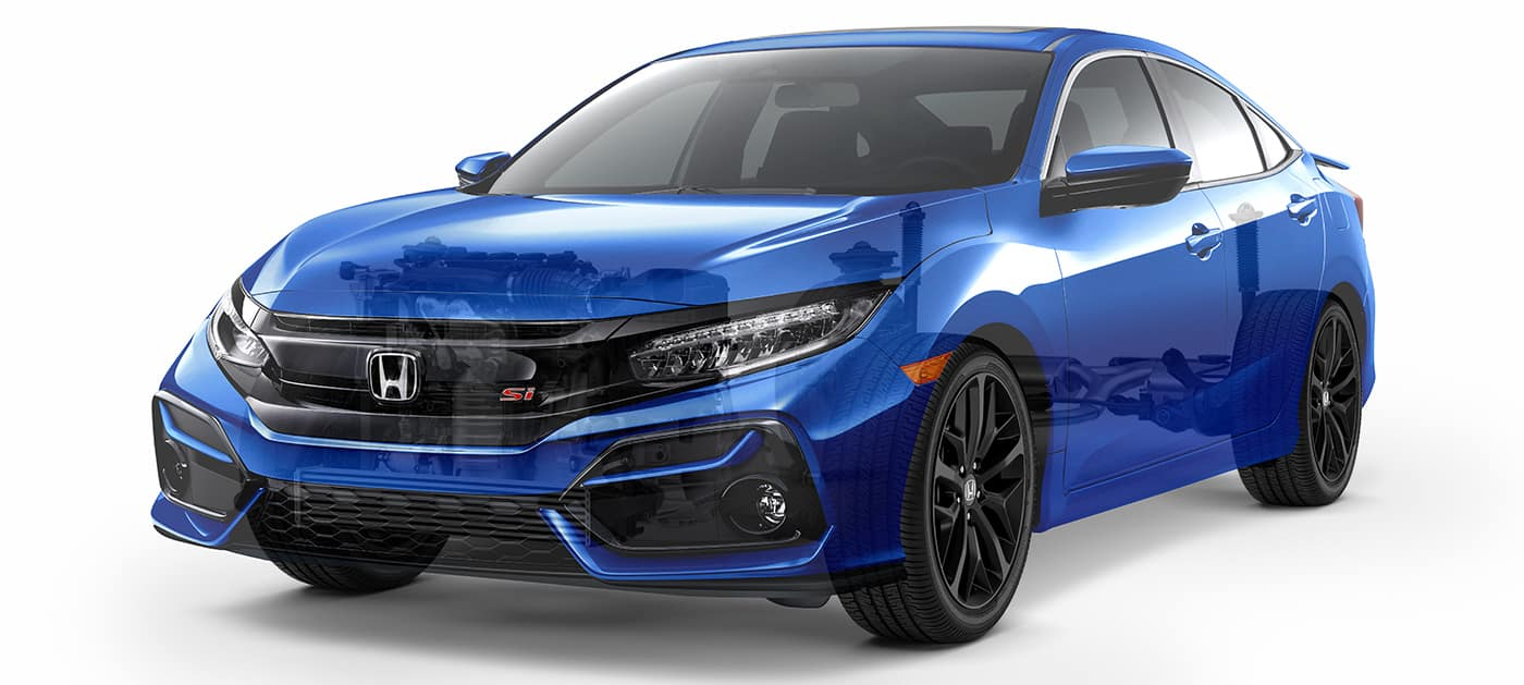 2020 Honda Civic Si turbocharged engine