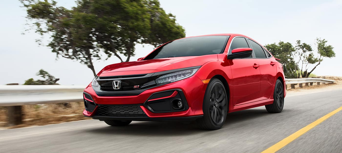 2020 Honda Civic Si technology