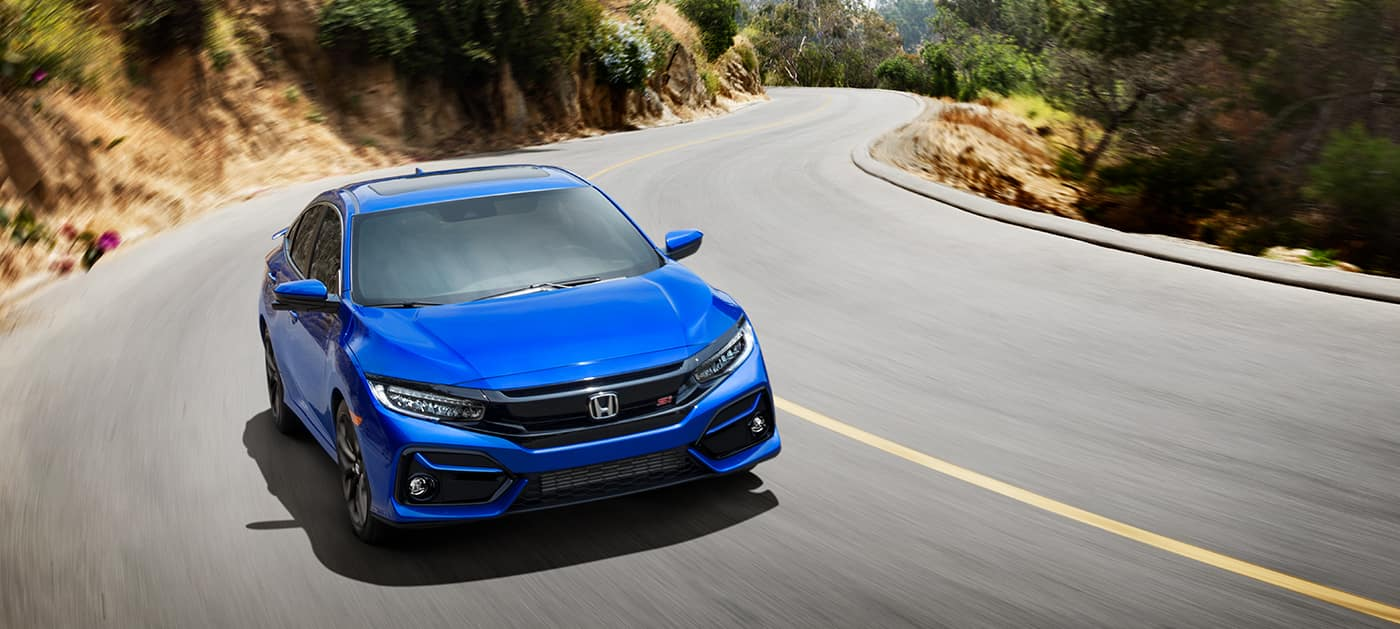 2020 Honda Civic Si aegean blue