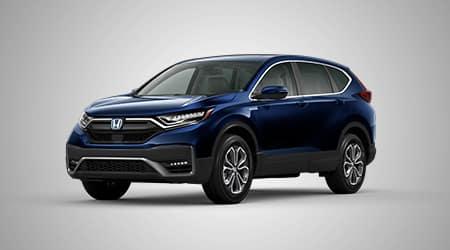 2020 Honda CR-V Hybrid EX-L in Obsidian Blue