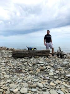 jason and max by lake erie
