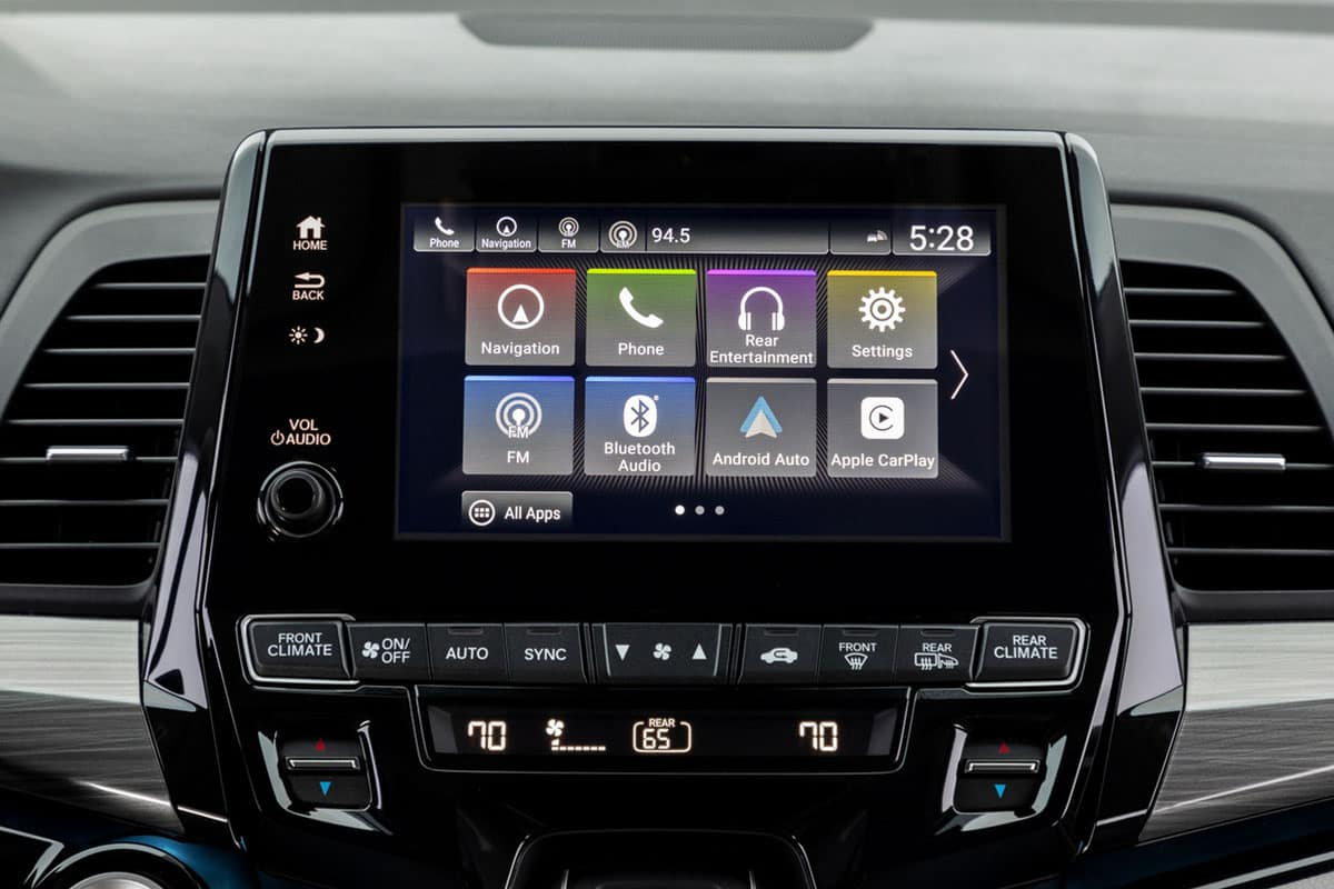 2021 Honda Odyssey EX 8 inch display audio touch screen
