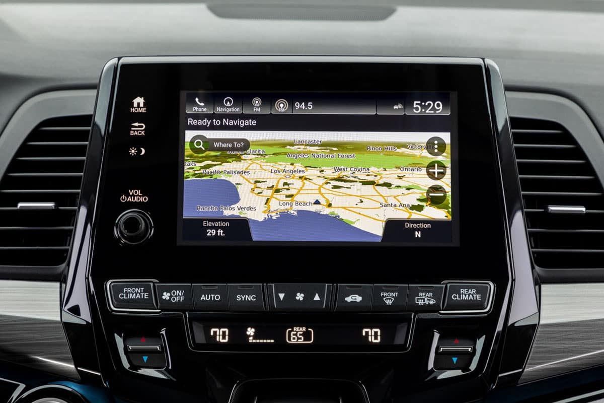2021 Honda Odyssey with navigation