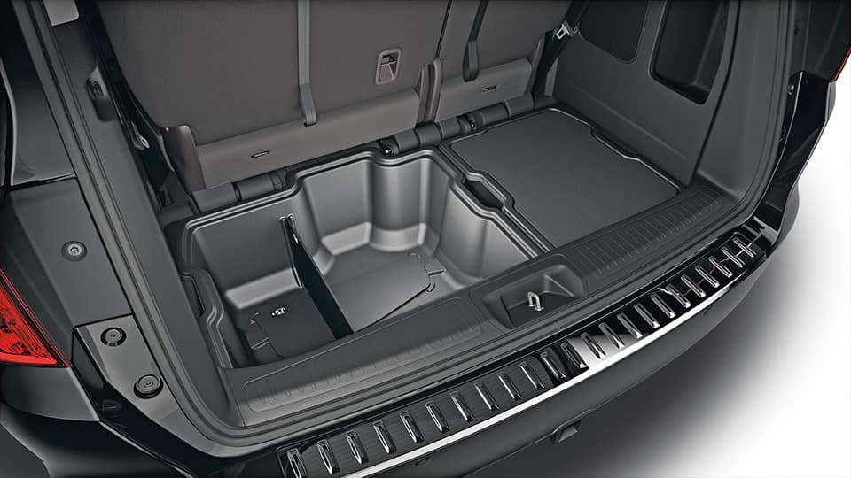 Honda Odyssey Cargo Bins