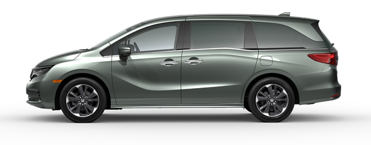 2021 Honda Odyssey Elite in Forest Mist Metallic