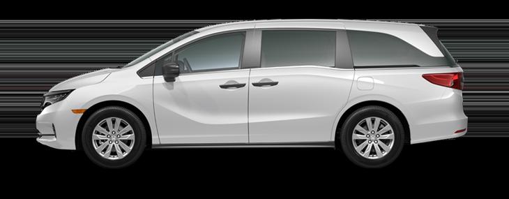 2022 Honda Odyssey LX in Platinum White Pearl