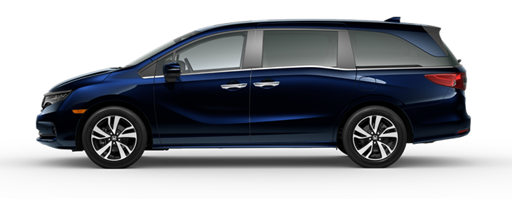 2022 Honda Odyssey Touring in Obsidian Blue Pearl