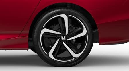 2021 Honda Accord Sport with 19 inch alloy wheels