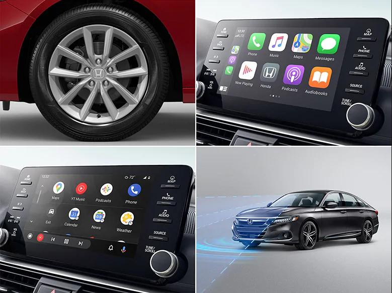 2021 Honda accord lx features