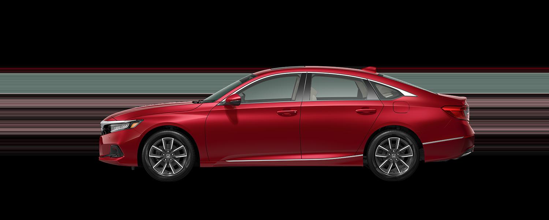 2021 Honda accord EX-L in radiant red metallic