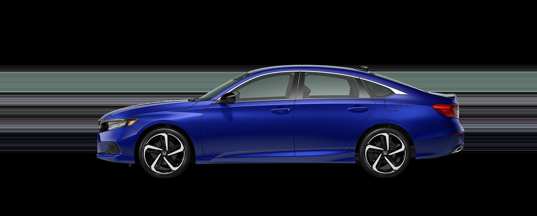 2021 Honda accord sport special edition in still night pearl blue