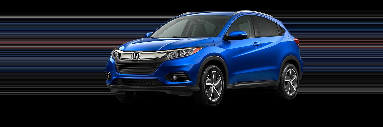 2021 Honda HR-V in Aegean Blue Metallic