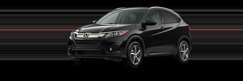 2021 Honda HR-V in Crystal Black Pearl