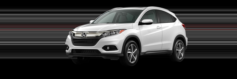 2021 Honda HR-V in Platinum White Pearl