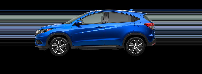 2021 Honda HR-V EX-L in sonic gray pearl