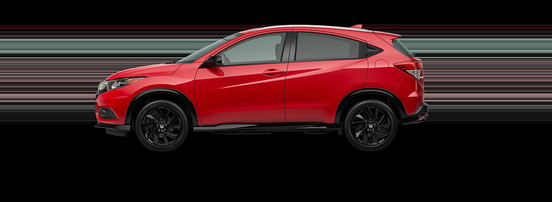 2021 Honda HR-V EX in radiant red metallic
