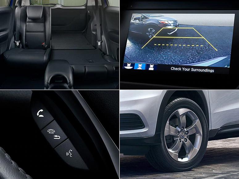 2021 Honda HR-V LX trim level features