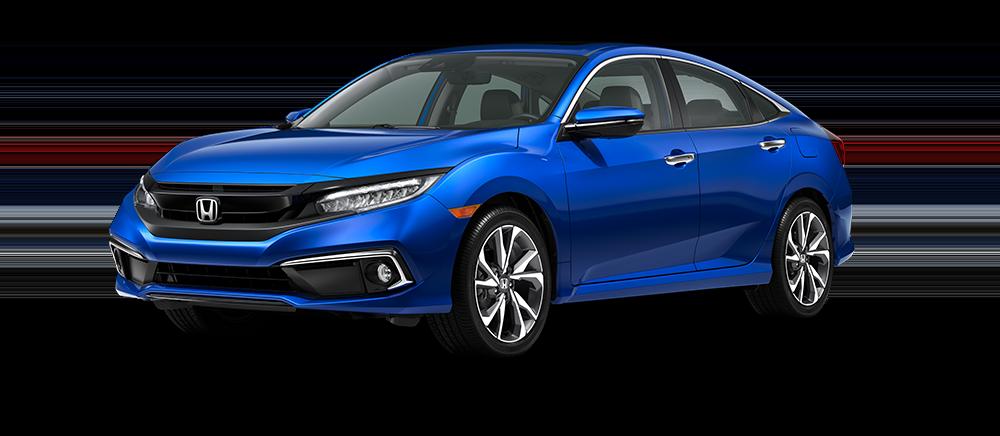 2020 Honda Civic Aegean Blue Metallic