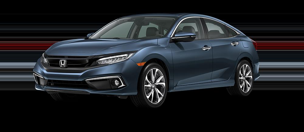 2021 Honda Civic Cosmic Blue Metallic