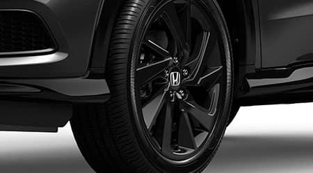 2021 Honda HR-V sport with 18 inch alloy wheels