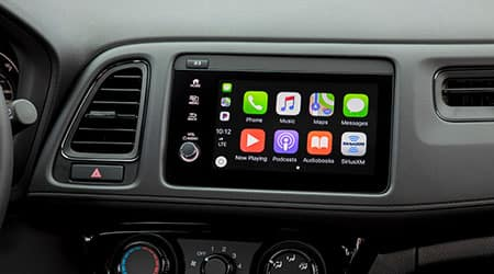 2021 Honda HR-V with Apple CarPlay and android auto integration