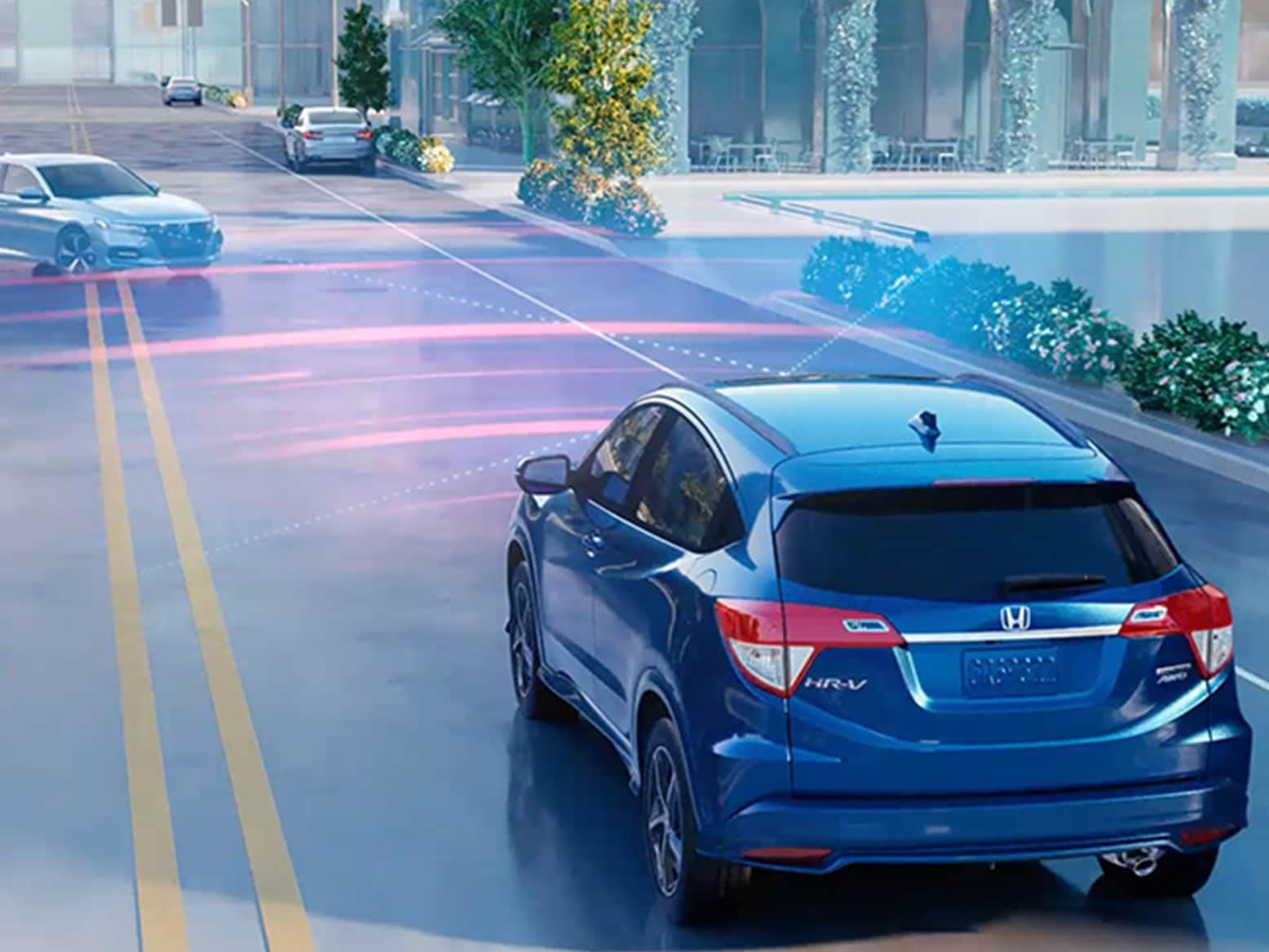 2021 Honda HR-V with Honda Sensing