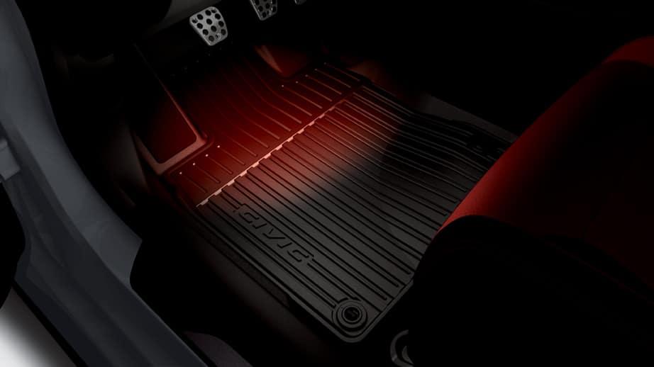 2021 Honda Civic Type R with interior illumination