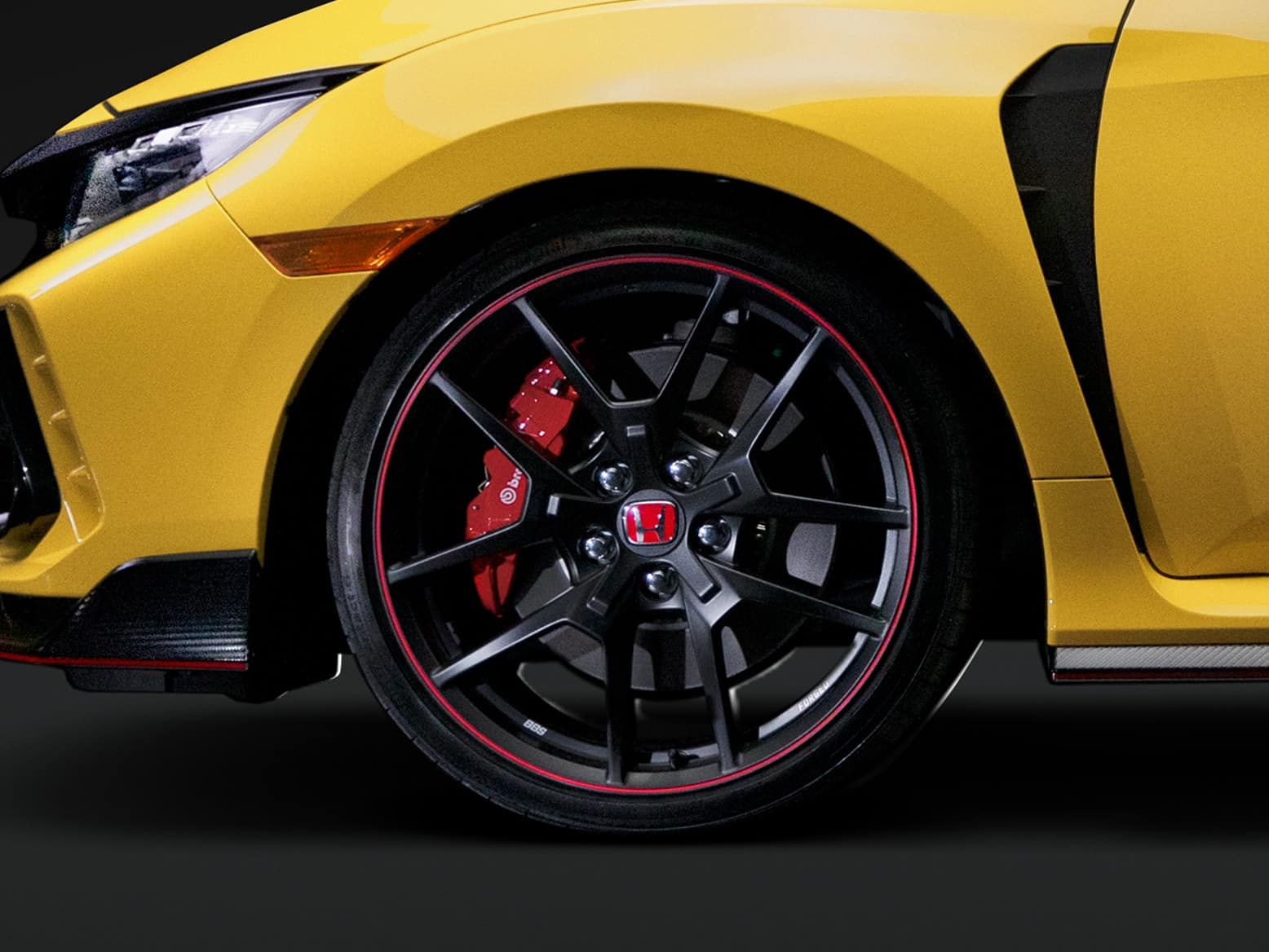 2021 Honda civic type r with bbs forged aluminum 20 inch wheels