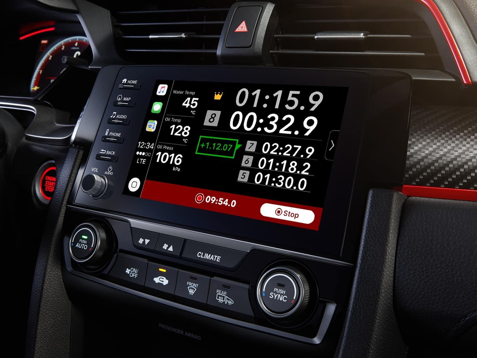 2021 Honda Civic Type R with honda datalogger system