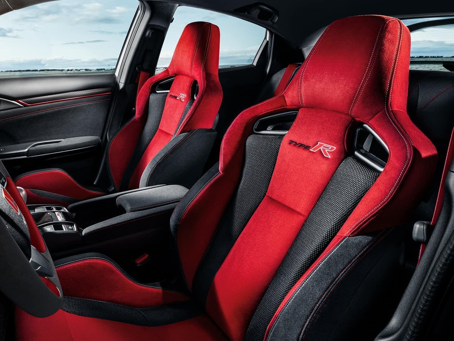 2021 Honda Civic Type R with sport seats