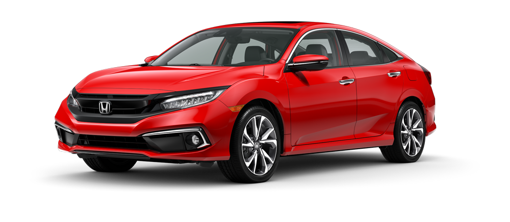 2021 Honda Civic Rallye Red