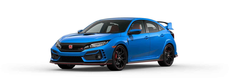 2020 Honda Civic Type R in Boost Blue Pearl