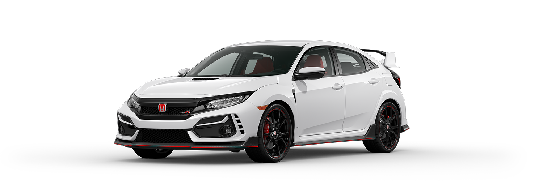 2020 Honda Civic Type R in Championship White