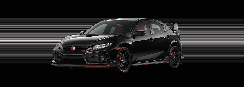 2020 Honda Civic Type R in Crystal Black Pearl