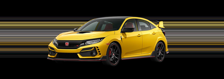 2020 Honda Civic Type R in Phoenix Yellow
