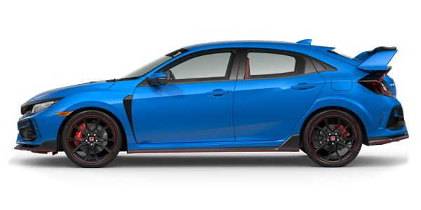 2021 Honda Civic Type R in boost blue pearl