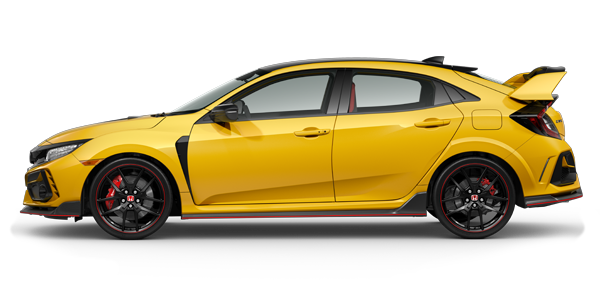 2021 Honda Civic Type R Limited Edition in Phoenix Yellow